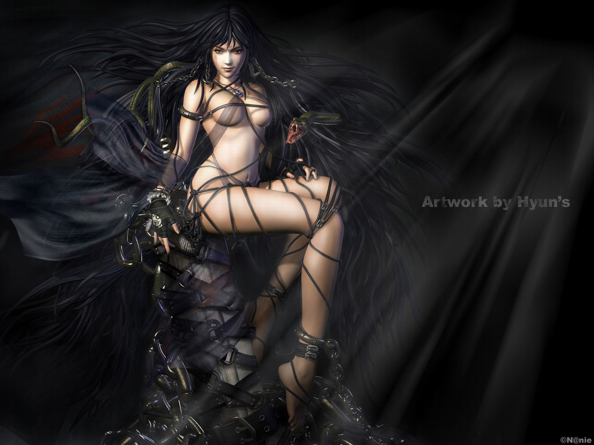 Sexy warrior girl screensaver hardcore home lady